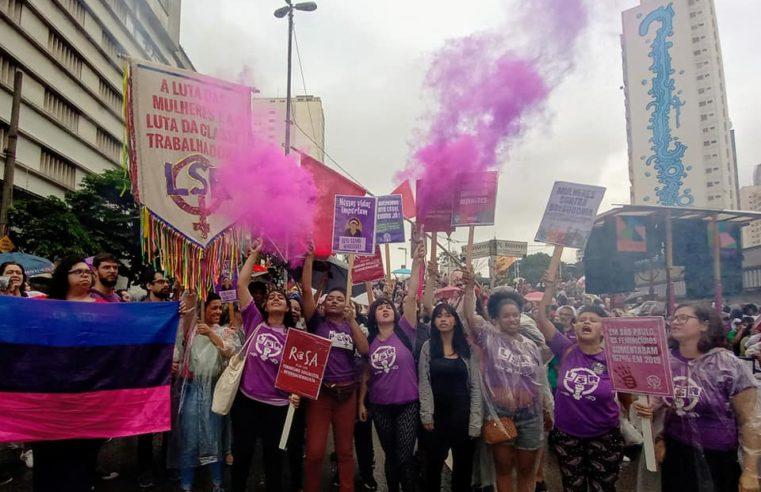 LSR de Brasil saluda al movimiento feminista en México (vídeo)