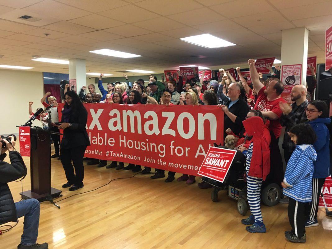 ¿Cómo los socialistas derrotaron el intento de Amazon de comprar las elecciones de Seattle?