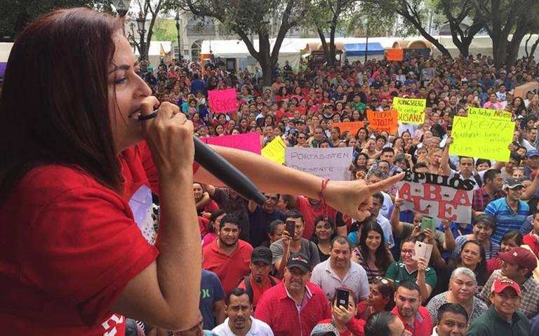 Defender los derechos y la vida de los trabajadores no es un delito: ¡Susana es inocente!