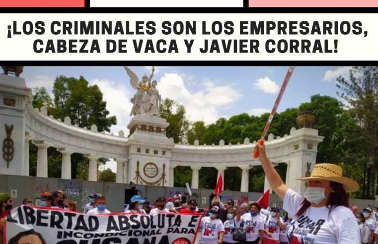 ¡Luchar por los derechos laborales no es un delito!