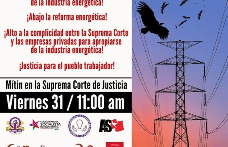 ¡Justicia para el pueblo trabajador!
