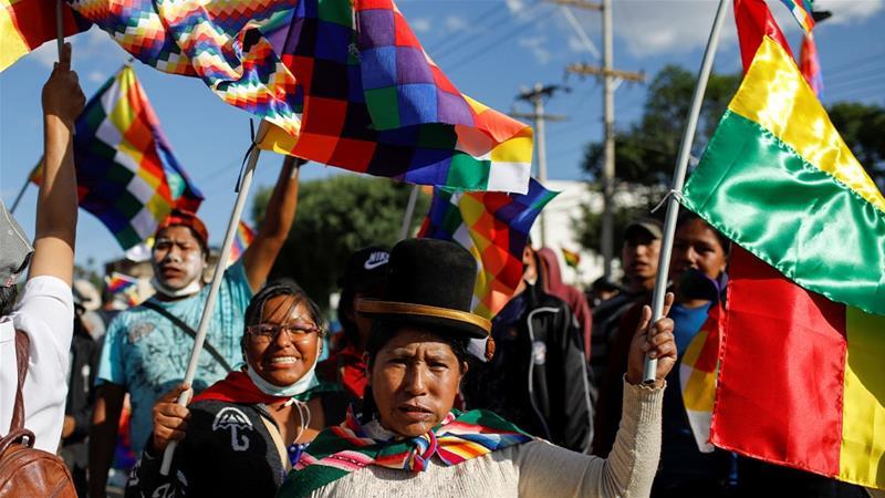 Bolivia: resistencia masiva contra el gobierno golpista