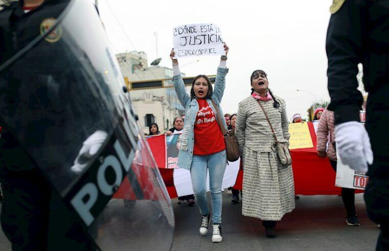 Perú: ¡Que me guste la vida social no es un delito, que me violen si!
