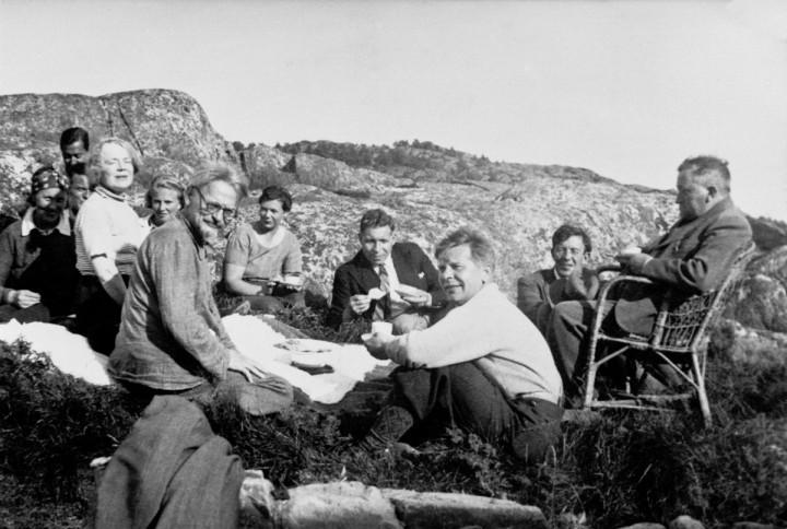 Trotsky en Noruega