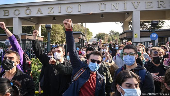 Turquía: Protestas en la Universidad Boğaziçi