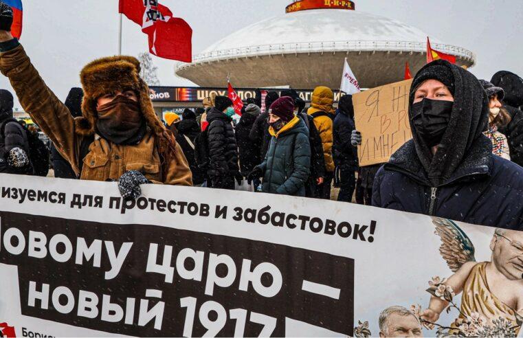 Rusia: Siete días en la cárcel por decir la verdad