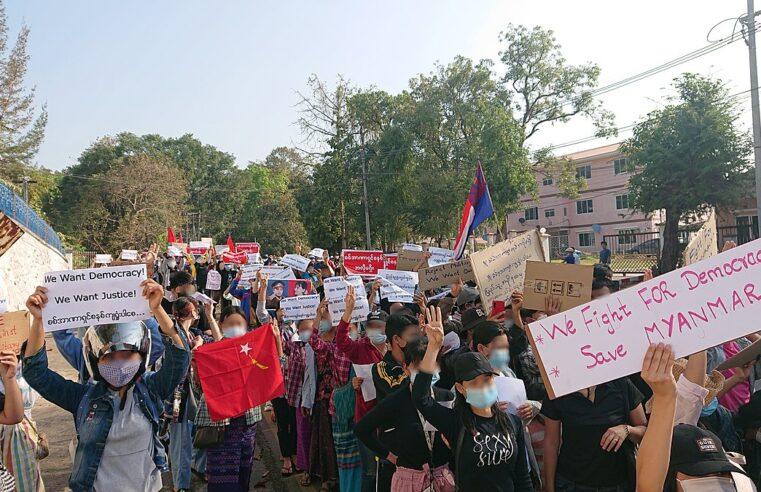 Myanmar: Siempre sea diligente, siempre sea rebelde