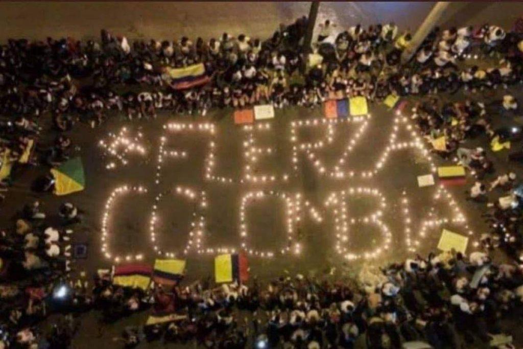 Colombia resiste: Solidaridad Internacional