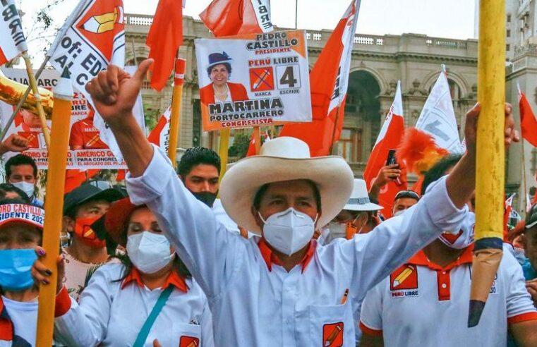 Segunda vuelta en Perú: La hija del ex dictador Fujimori contra la izquierda de Castillo