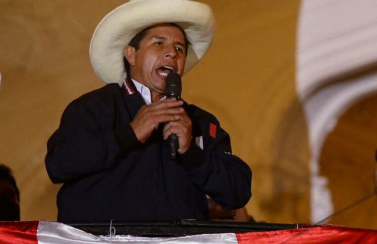 Perú: Triunfo electoral de Pedro Castillo