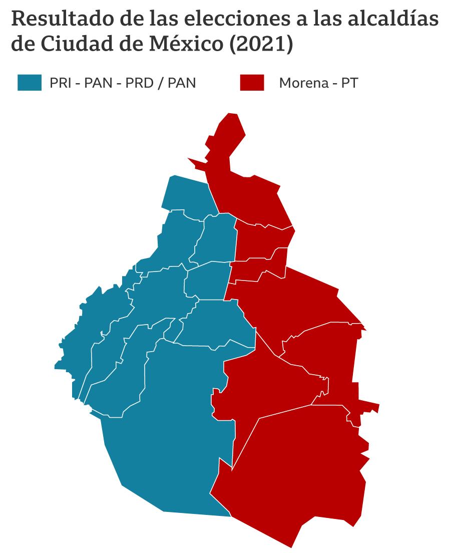 Elecciones en la Ciudad de México: El retroceso de la izquierda abre paso a la derecha