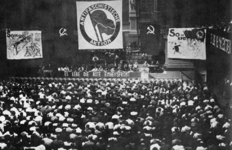 La Internacional Comunista y la amenaza fascista