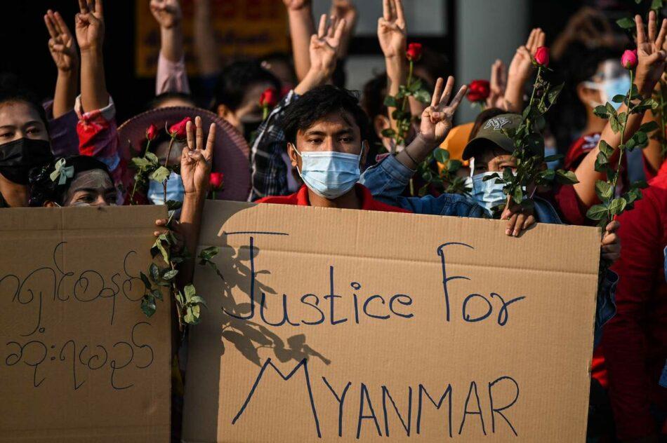 Entrevista con Khaing Zar, líder sindical en Myanmar