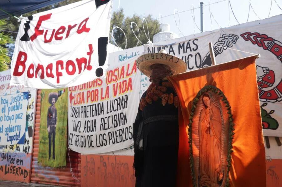 Puebla: la lucha de los pueblos en defensa del agua y el territorio.