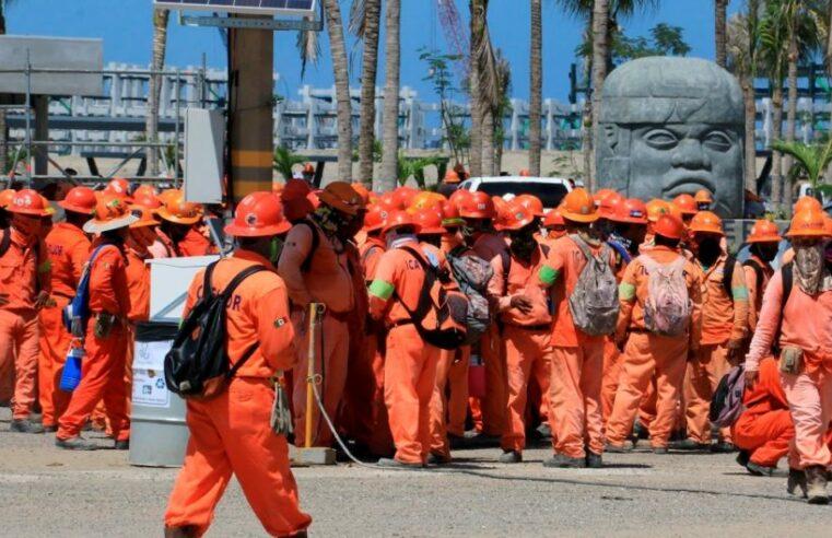 ¡Solución a las demandas de los trabajadores de Dos Bocas!
